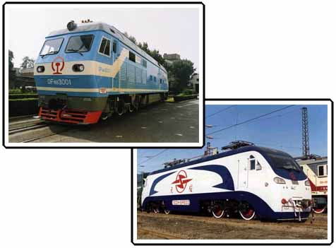 Electric and Diesel Locomotives
