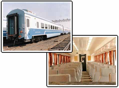 Railway Passenger Coaches