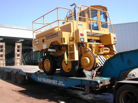 Trackmobile Railcar Mover